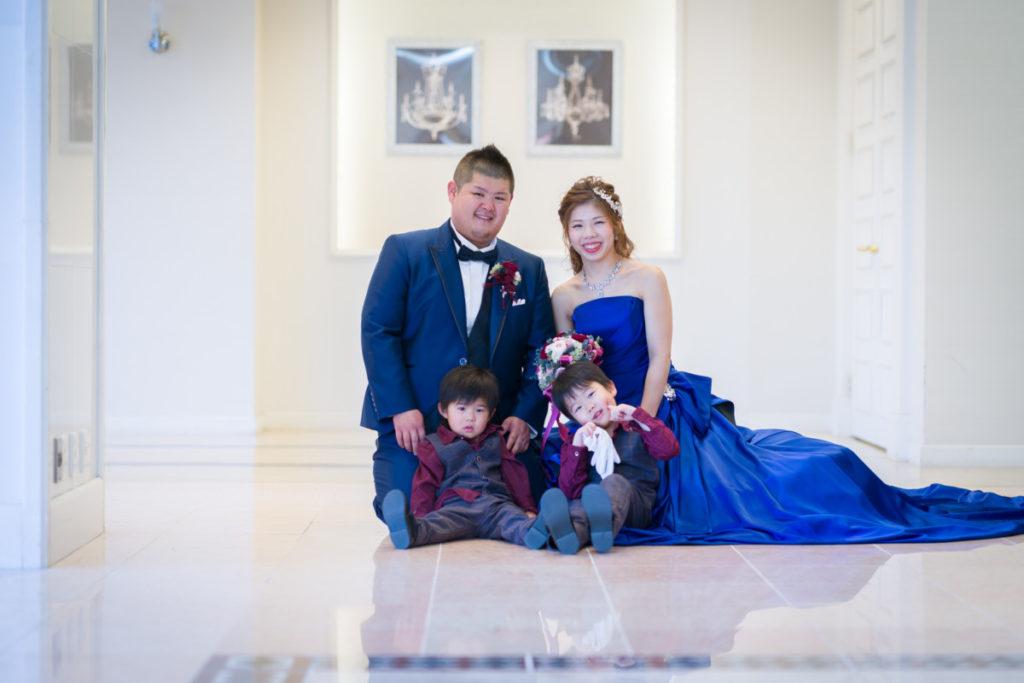 結婚式=家族の想い出に