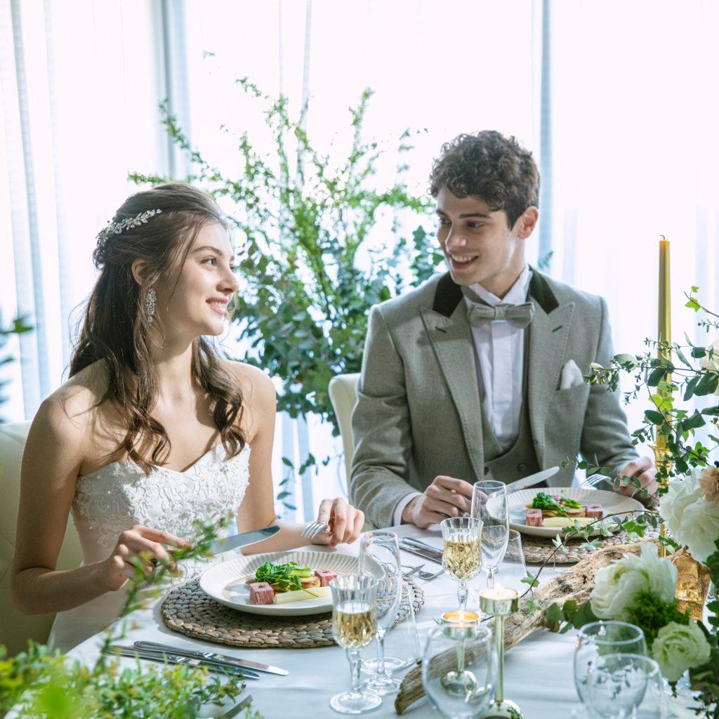 【家族・少人数婚】大切な方と特別な1日を~ドレス・食事付き大人気プラン~